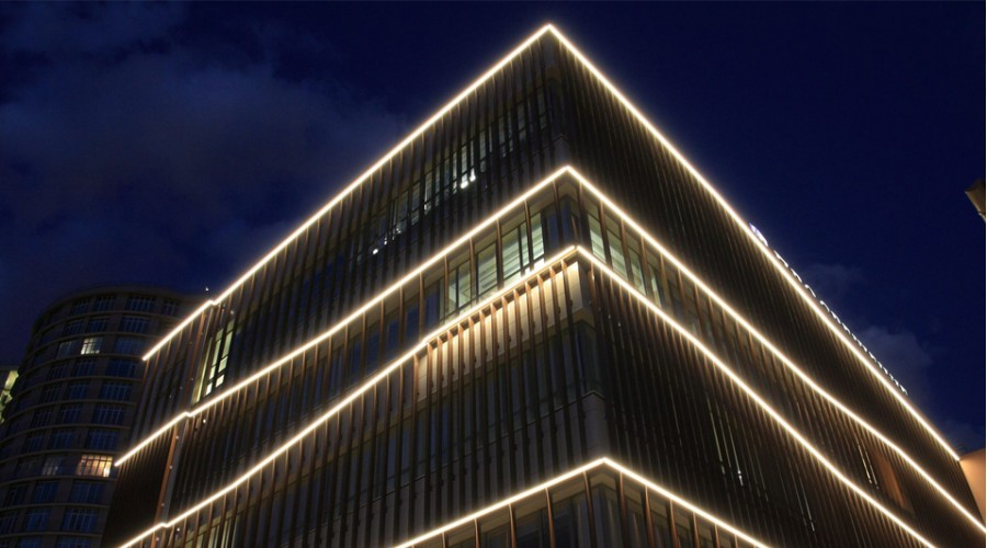 Новые архитектурные светильники Модерн