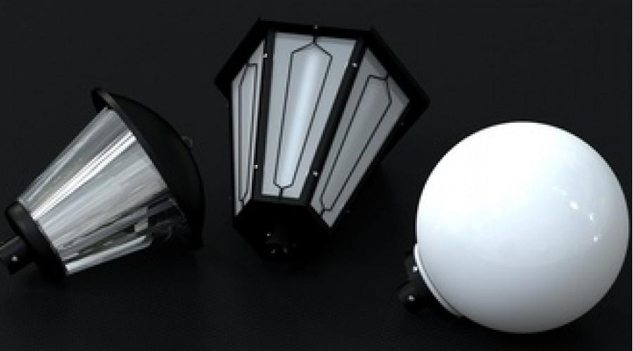 Расширение линейки парковых светильников