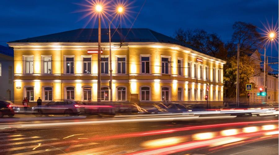 Фасад административного здания, г. Петрозаводск