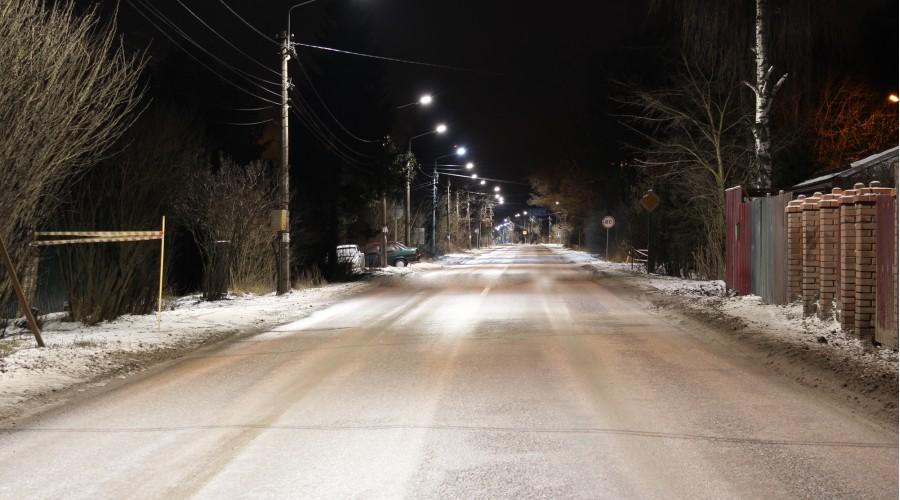 Центральная дорога деревни Авдотьино