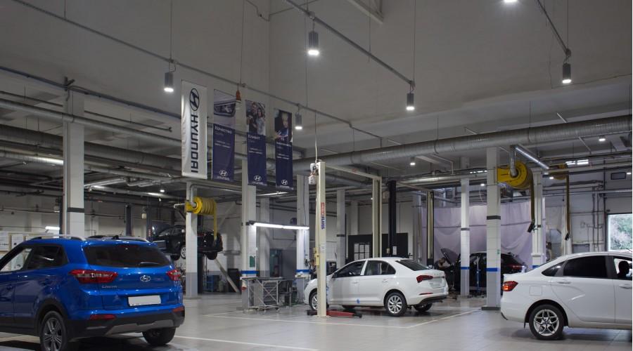 Автосервис Hyundai