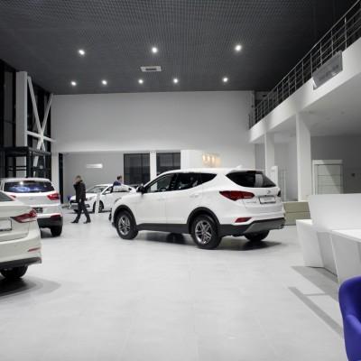 Автосалон и автосервис Hyundai
