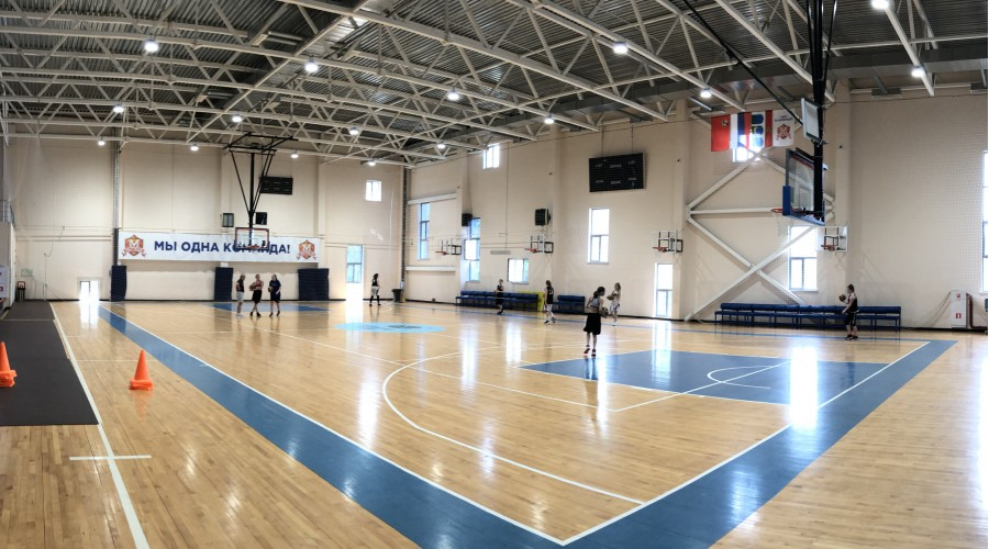 """Баскетбольный зал """"Олимп"""""""
