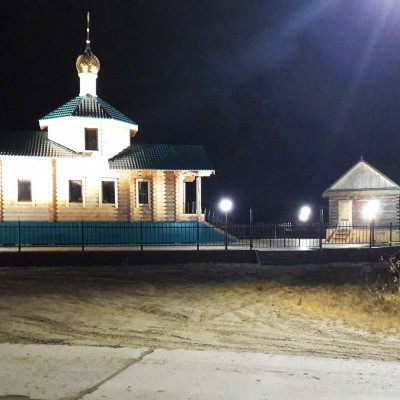 Церковь в селе Панаевск