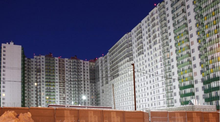 Строительная площадка ЖК «GreenЛандия-2»