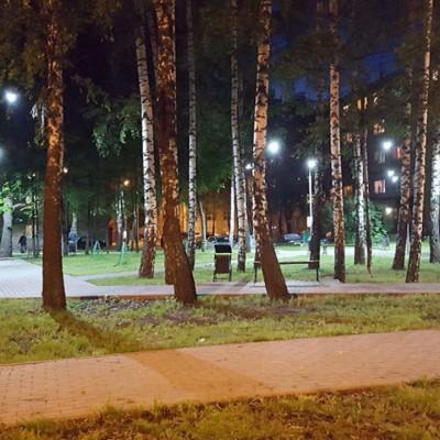 Парк МФТИ в г. Долгопрудный