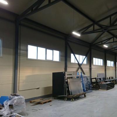Новое складское помещение