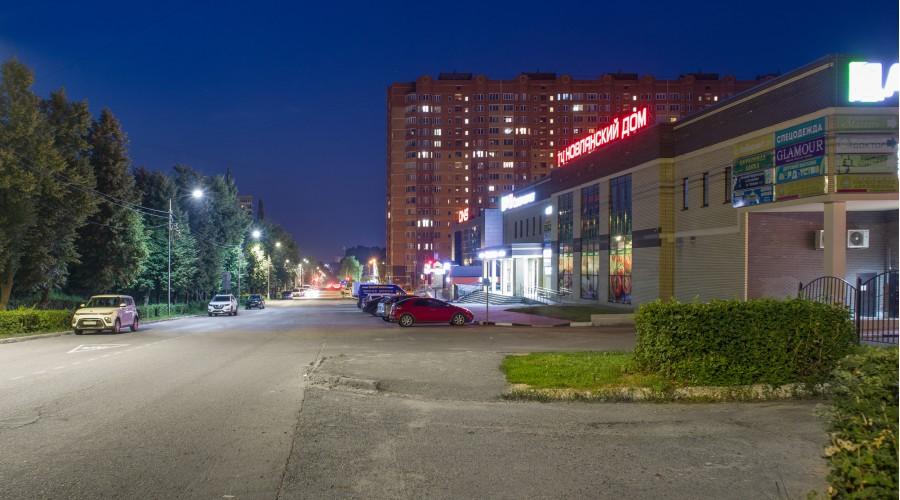 Освещение улицы Кагана в г. Воскресенск