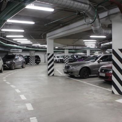 Паркинг БЦ «Петровский форт»