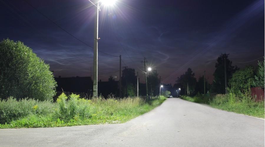 Уличное освещение поселка «Сусанино»