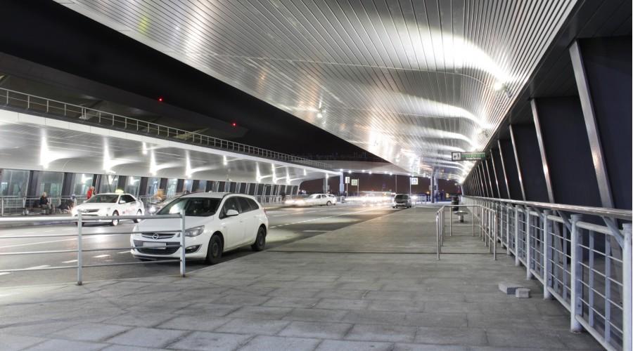 Эстакада аэропорта Пулково