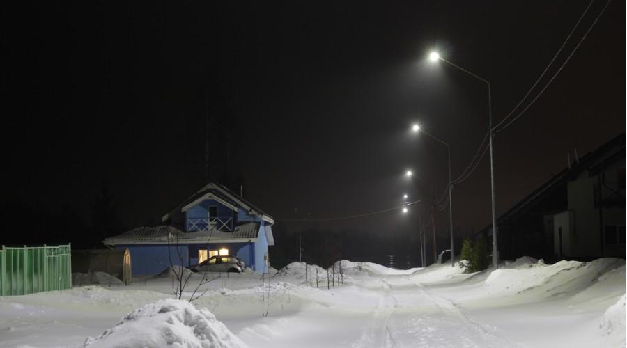 Уличное освещение Румболовского Предместья