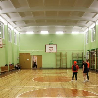 Спортзал в школе №43