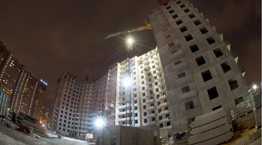 Строительная площадка ЖК «Суворов»