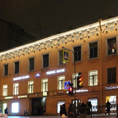 Фасад БЦ Владимирский 17