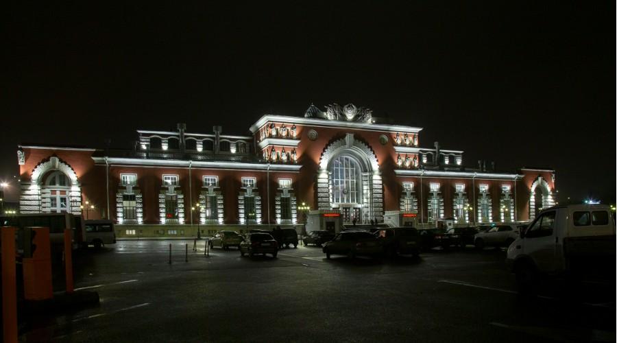 Железнодорожный вокзал в г. Курск