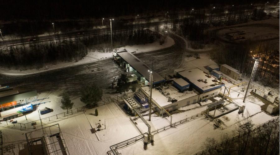 "Заправка ""Газпром"""