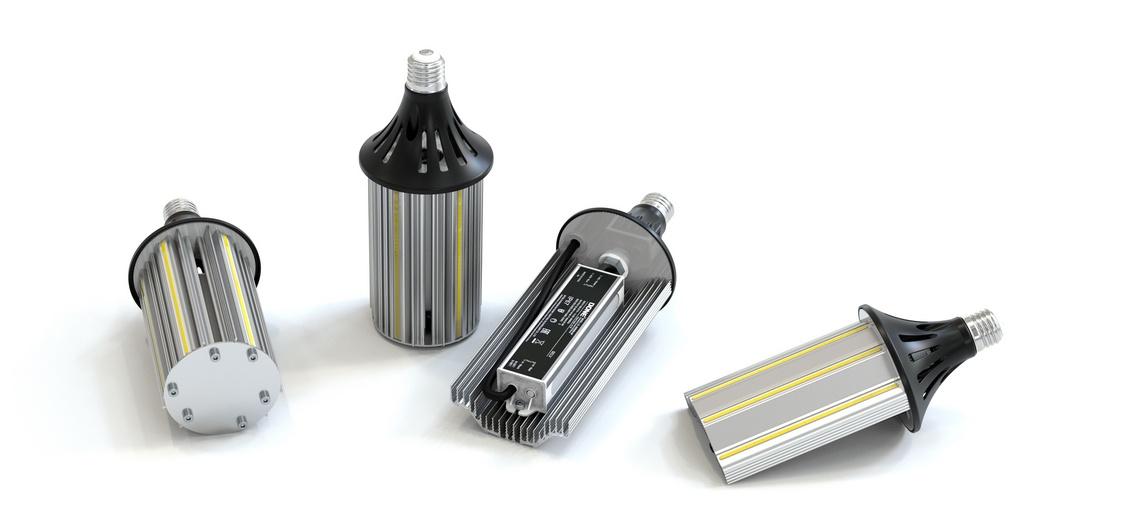 Новые светодиодные лампы Е27-Д