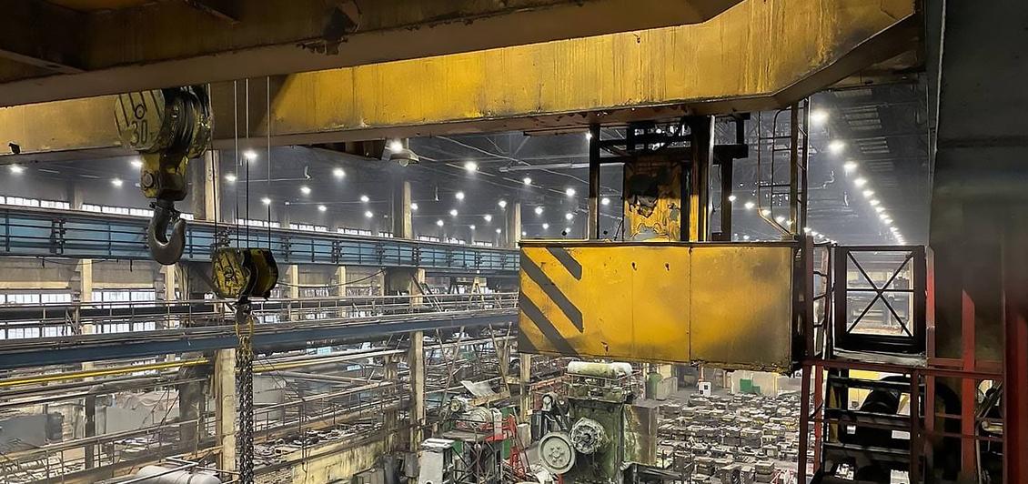 Светильники PromLED на Петербургском тракторном заводе