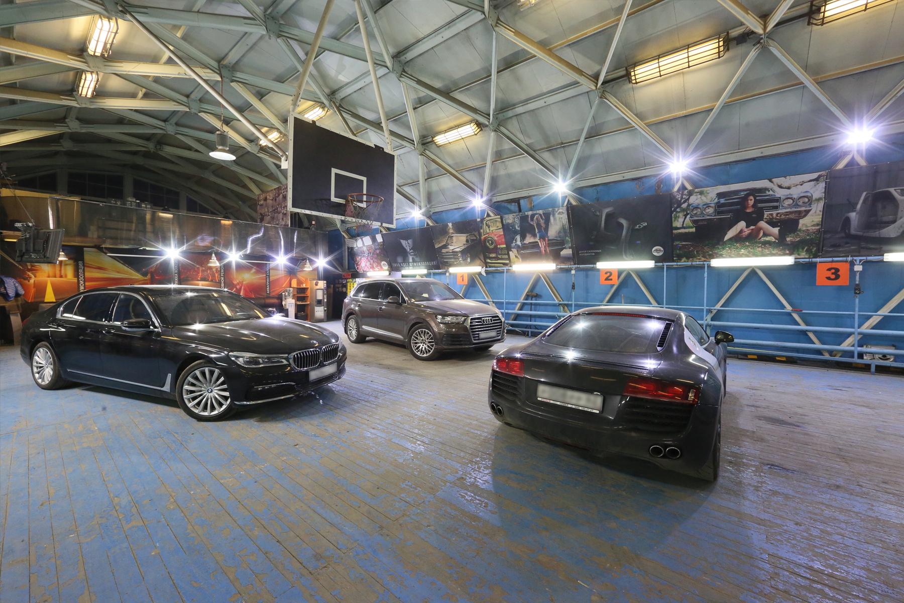 Реализованный проект освещение рабочей зоны автосервиса «Авто-Локер»