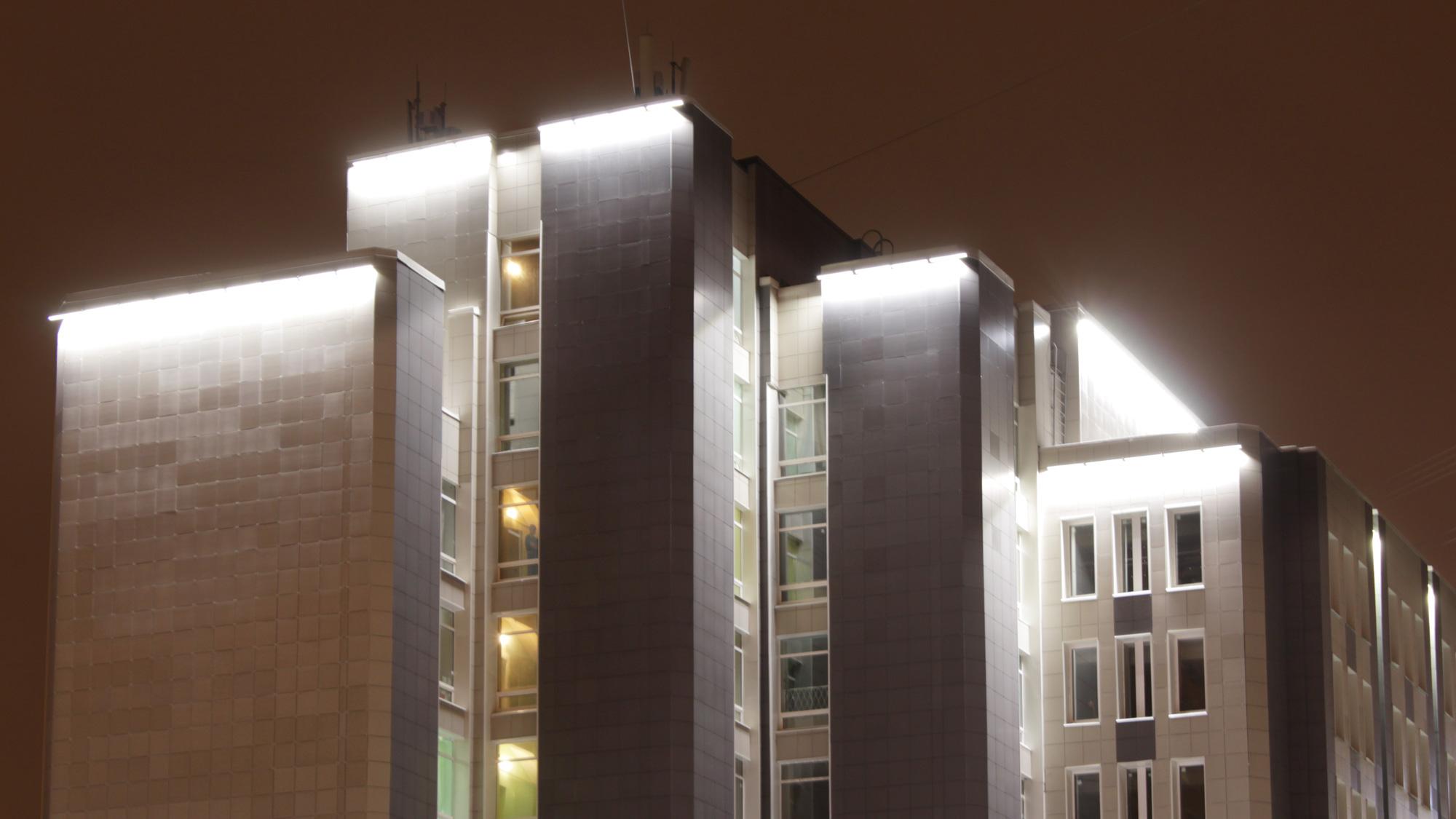 Архитектурное освещение больницы Святого Георгия
