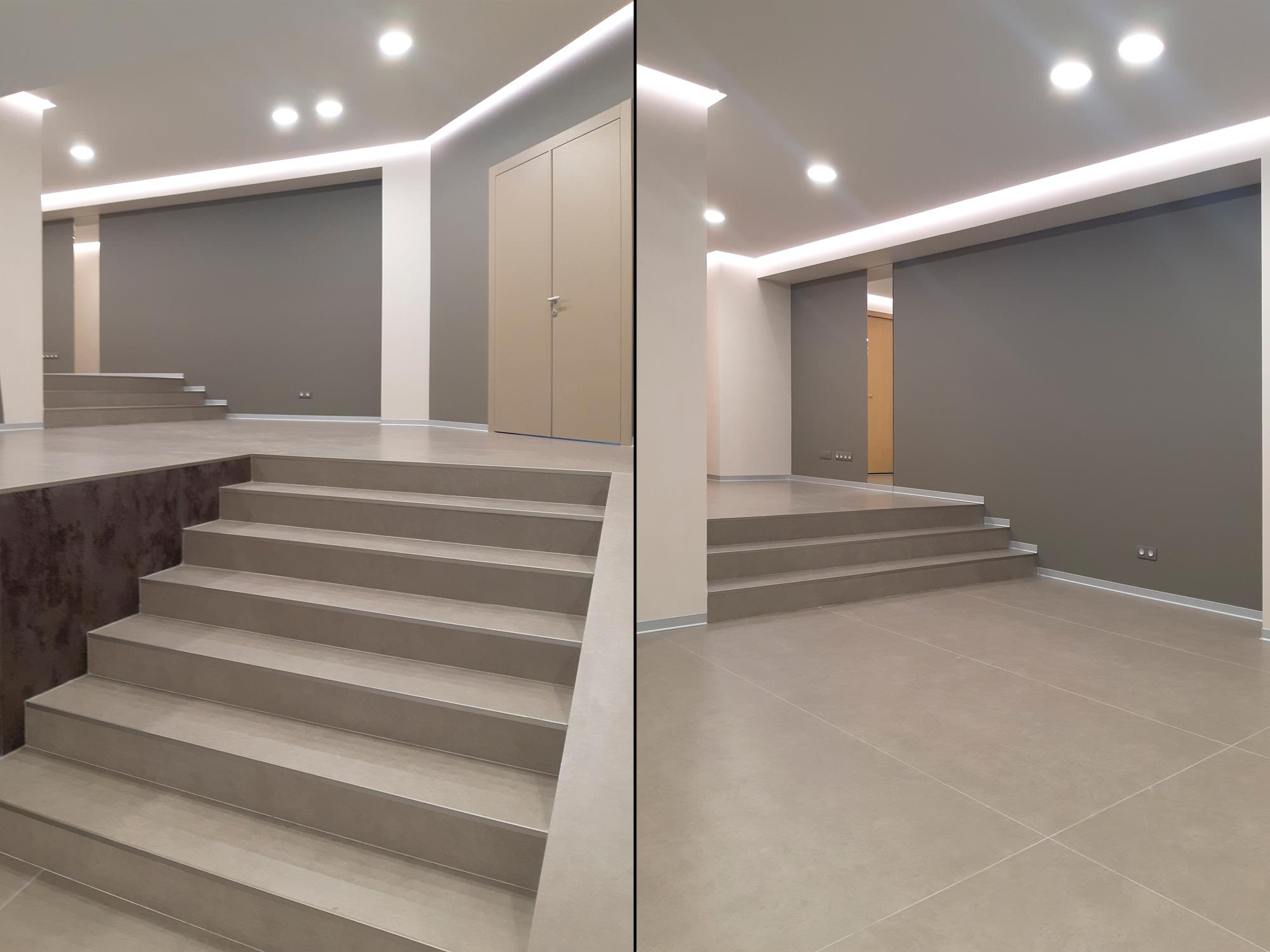 Реализованный проект освещения СПБГУП Холл дом студентов