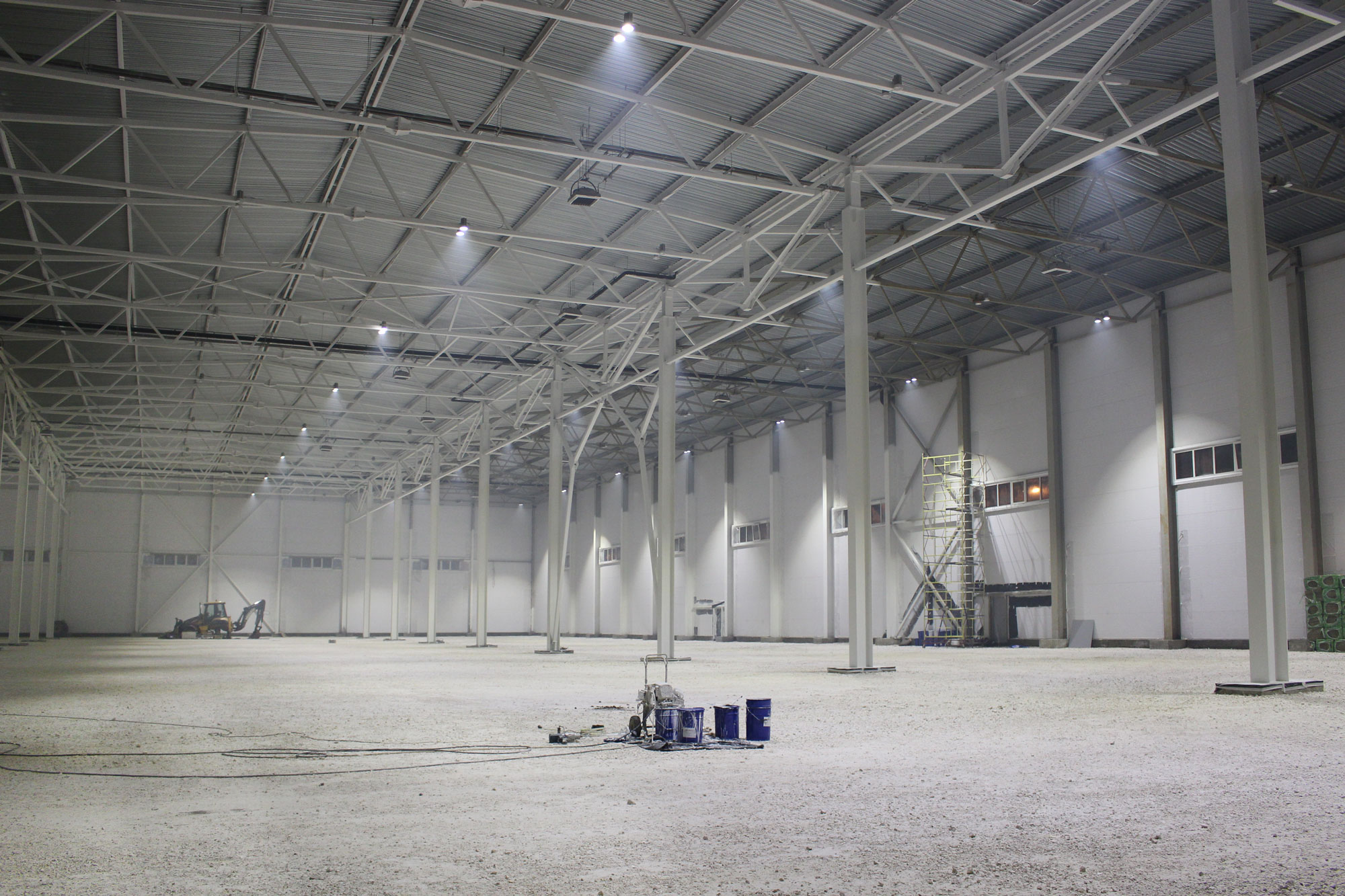 Освещение склада ООО «ГК Мобил плюс»