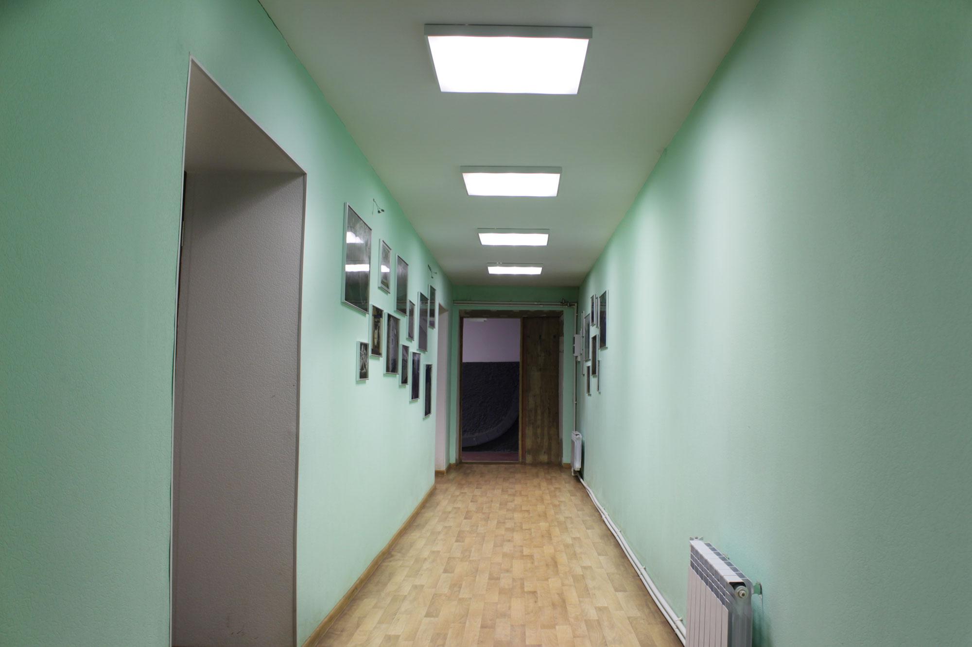 """Освещение офиса и покрасочных камер компании """"Модуль Энерджи Плюс"""""""