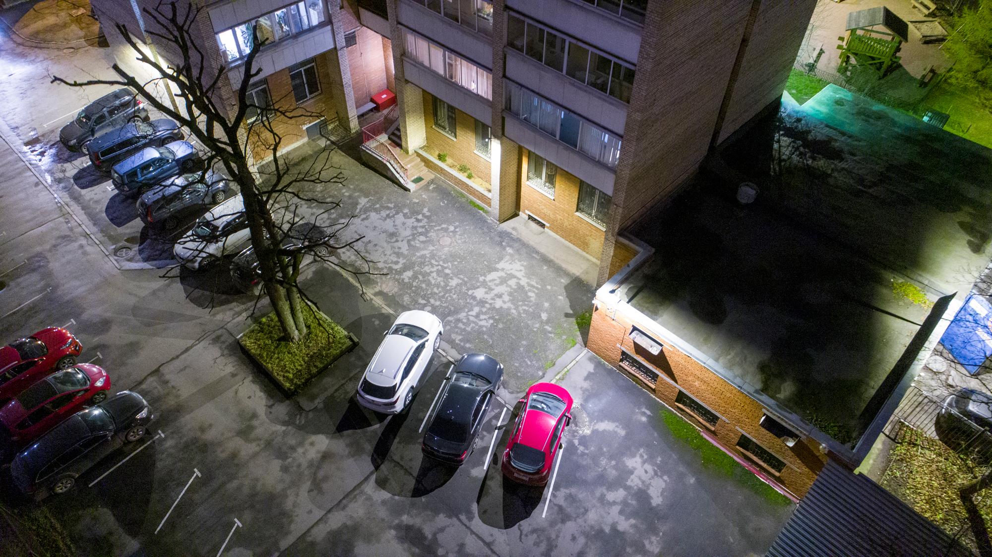 Реализованный проект освещения улицы Пархоменко 39