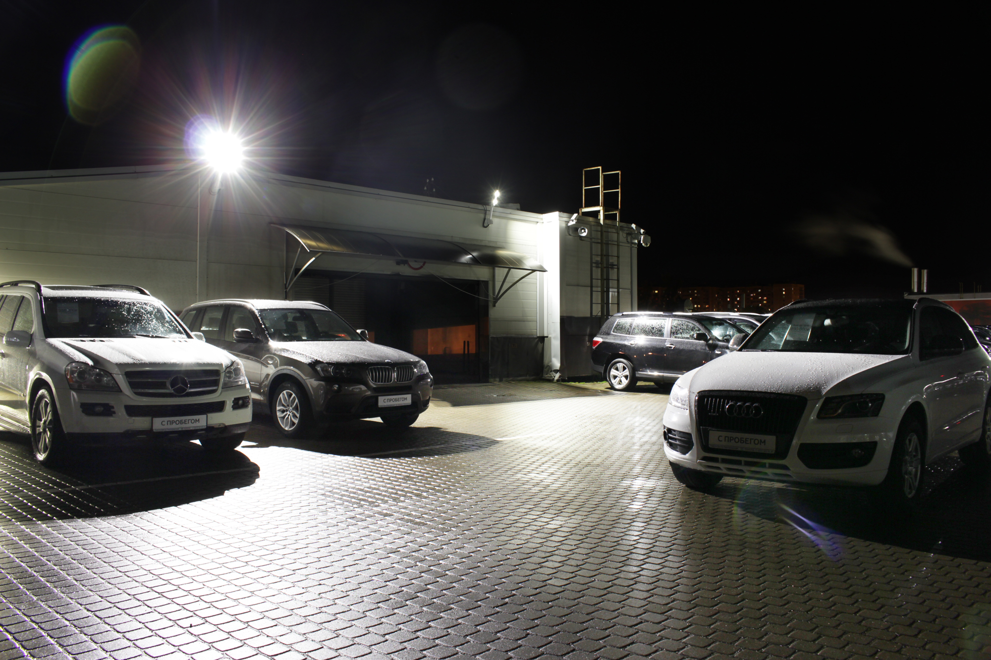 Освещение парковки «Тойота Пискаревский»