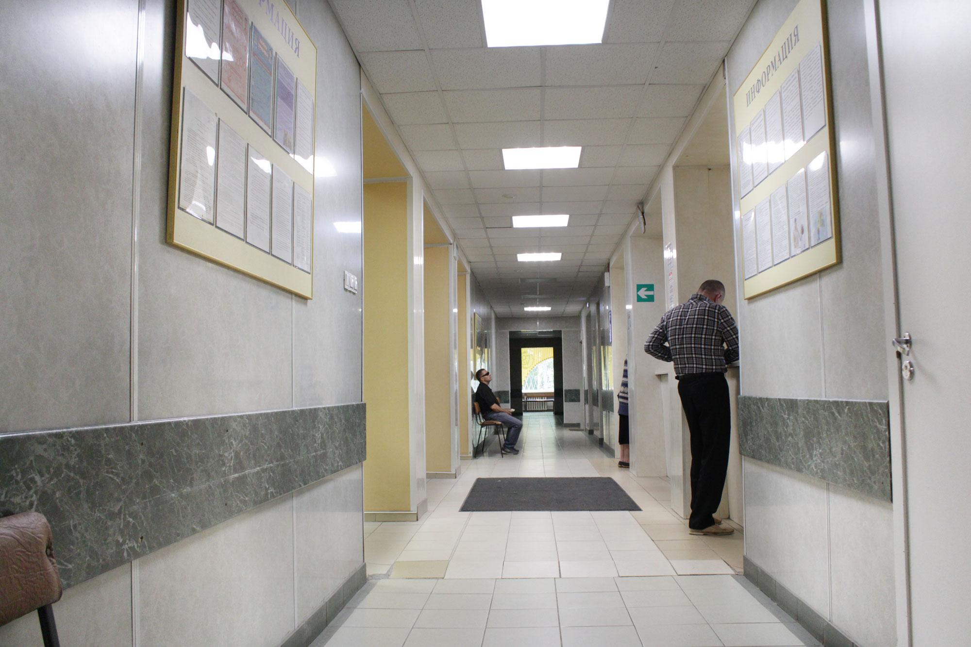 Освещение городской поликлиники №87