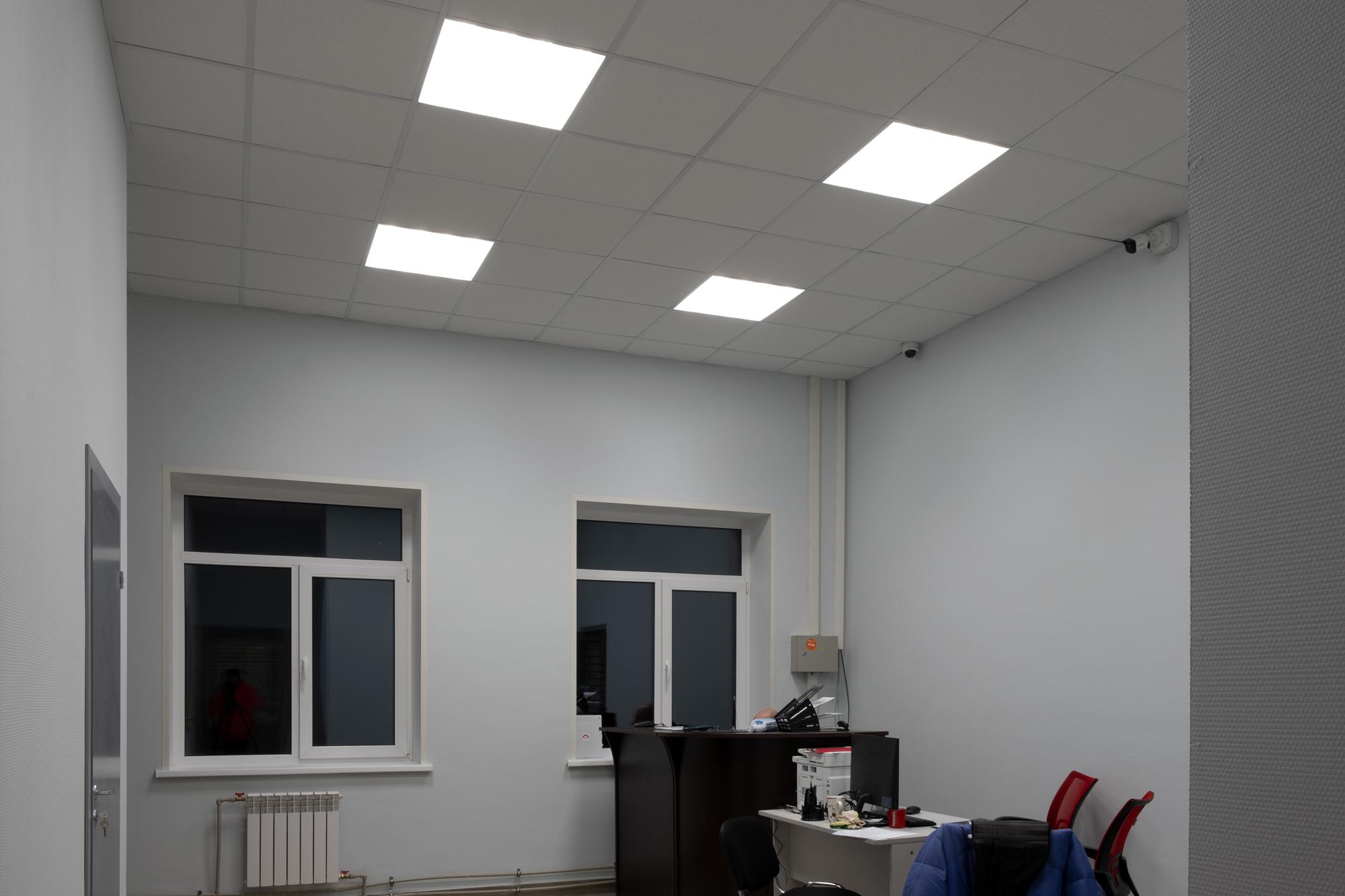 """Реализованный проект освещения СТО """"Шинсервис"""""""